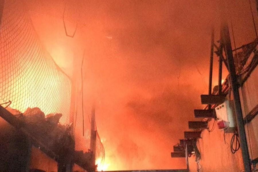 جزئیات آتش سوزی در محدوده بازار تهران