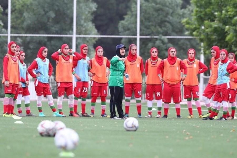 تصویر اسامی بازیکنان تیم ملی بانوان اعلام شد