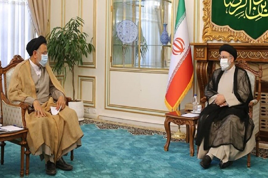 دیدار وزیر اطلاعات با رییس جمهور منتخب