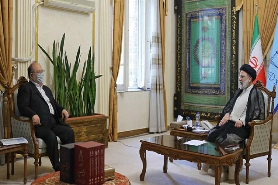 دیدار و گفتگوی وزیرکار با رئیس جمهور منتخب