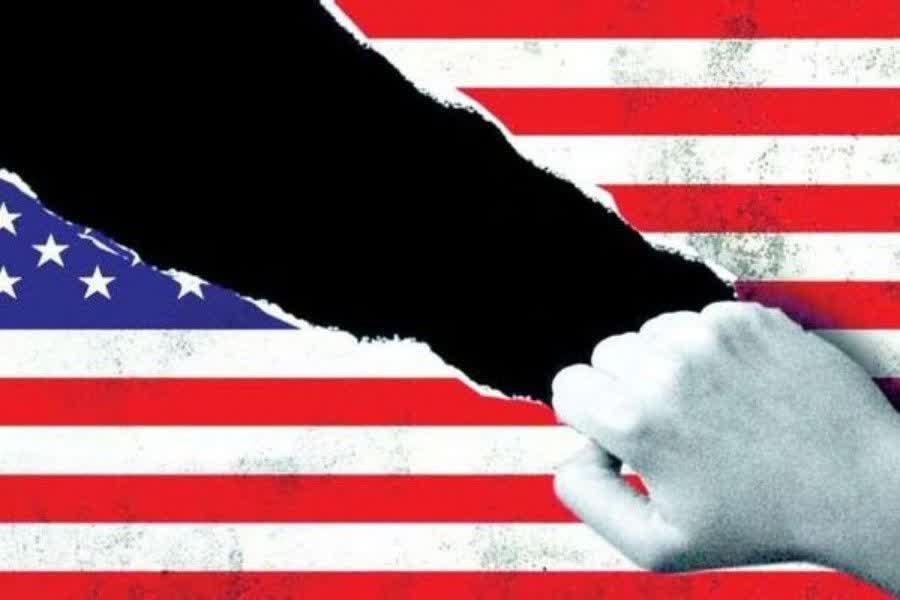 مرگ دموکراسی در آمریکا چالش جدی رئیسجمهور فاقد مشروعیت