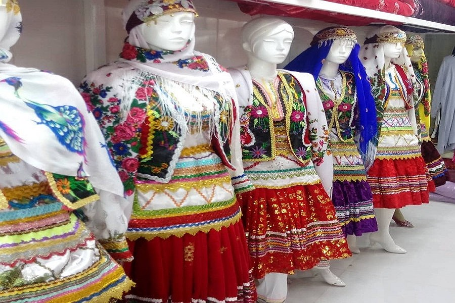 لباس محلی خراسان شمالی قدمتی به بلندای تاریخ