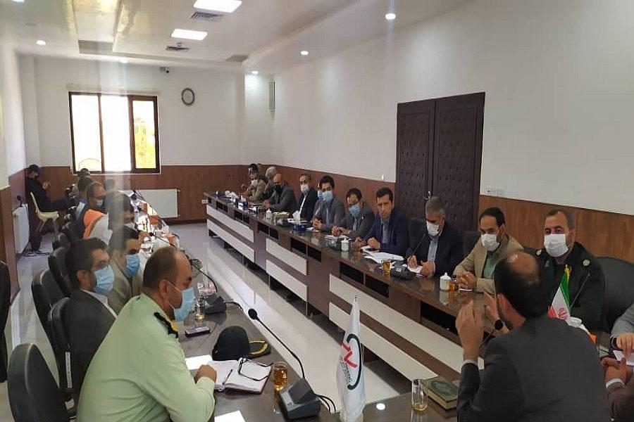 جلسه کمیته مدیریت بحران شهرستان راز و جرگلان
