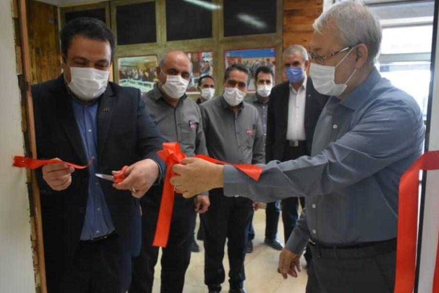 افتتاح باجه بانک پارسیان در شرکت اپال پارسیان سنگان