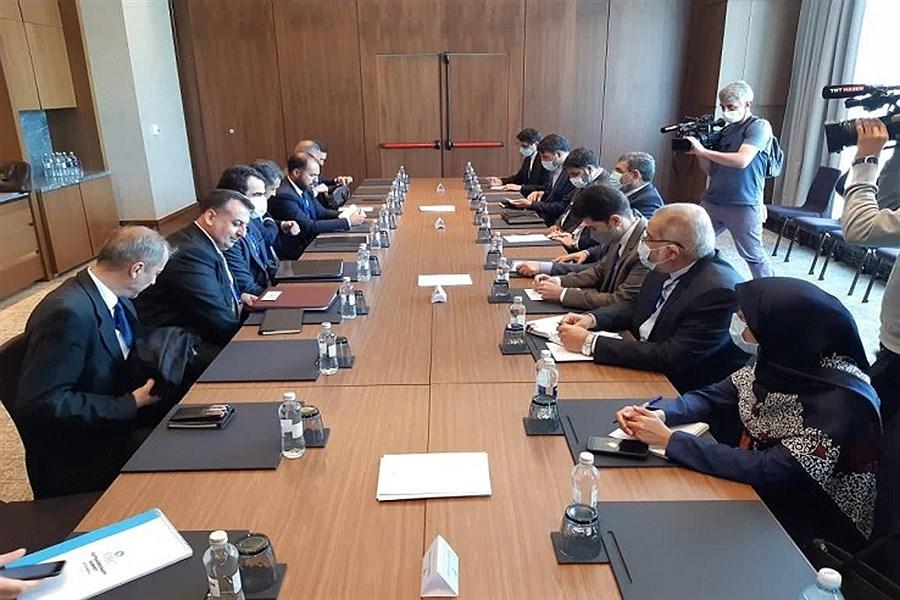 رایزنیهای هیئت ایرانی  برای ایجاد صلح و ثبات در سوریه