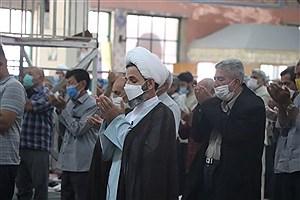 تصویر  اقامه نماز جمعه خراسان شمالی