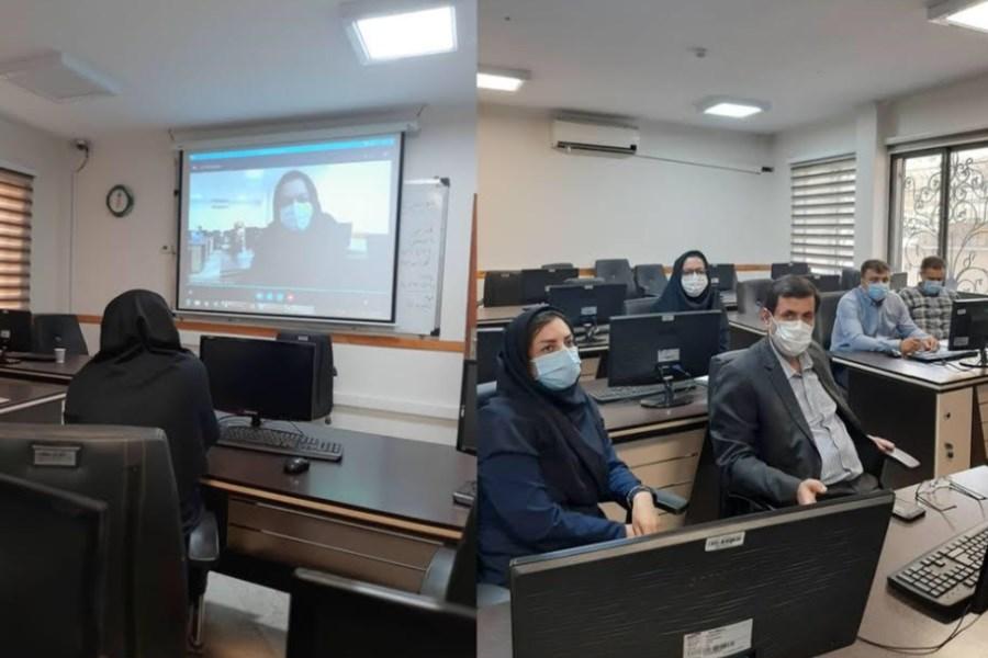 جلسه اطلاع رسانی امور بازنشستگان پست بانک ایران برگزار شد