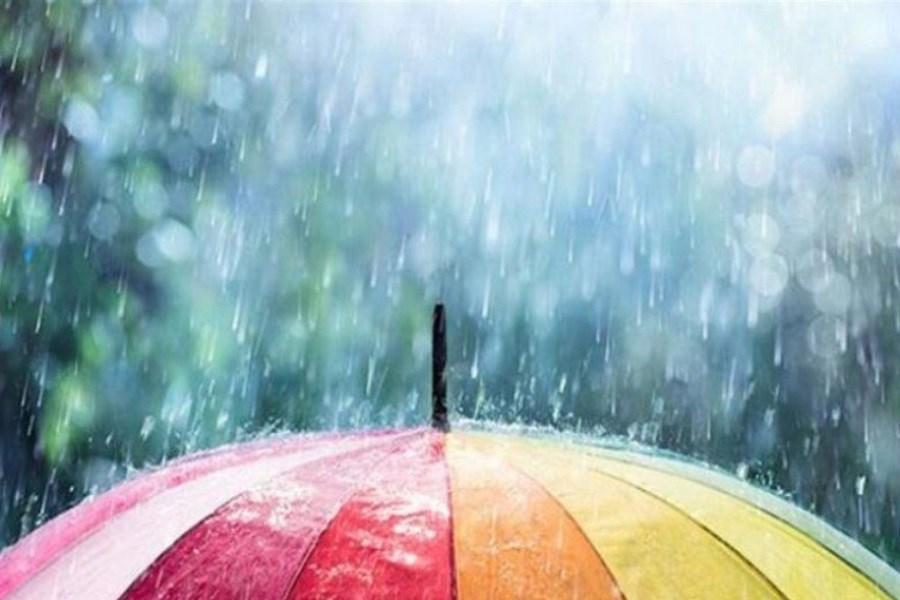 آسمان زنجان بارانی میشود