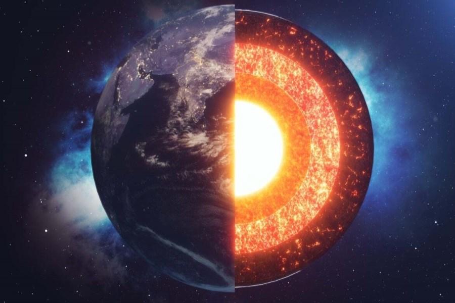 کشف رشد نامتقارن هسته زمین باعث حل معمایی ۳۰ ساله شد