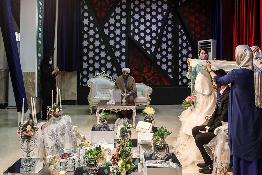 شما ازدواج کنید؛ مراسم عروسی با خیران همنمک