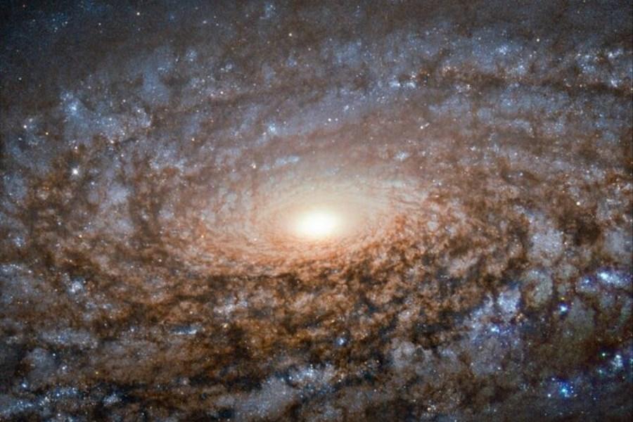 ثبت تصویری از یک کهکشان کُرکی