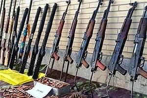 تصویر  انهدام باند قاچاق سلاح در دهلران