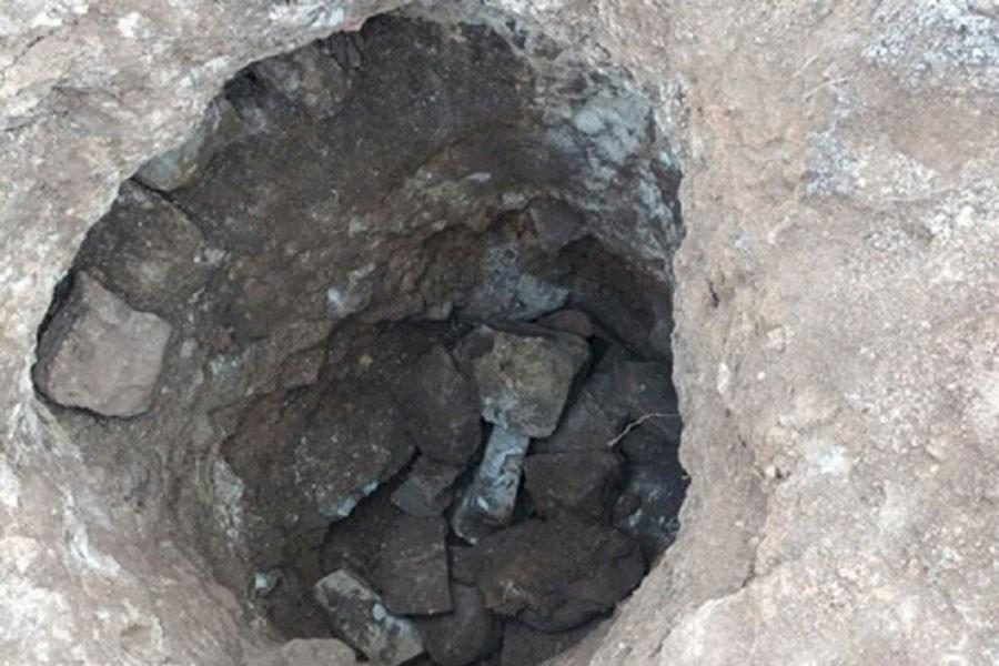 دستگیری یک نفر حفار غیرمجاز در شهرستان مرودشت