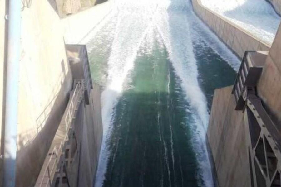 رهاسازی روزانه ۱۱۰ مترمکعب بر ثانیه آب از سد کرخه