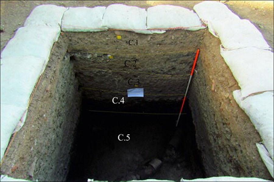 یافتههای تازه باستانشناسی از «سبزه میدان» قزوین