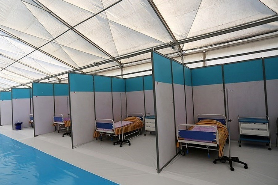 ساخت بیمارستان صحرایی ۱۰۰ تختخوابی در زاهدان ظرف ۵ روز توسط ارتش