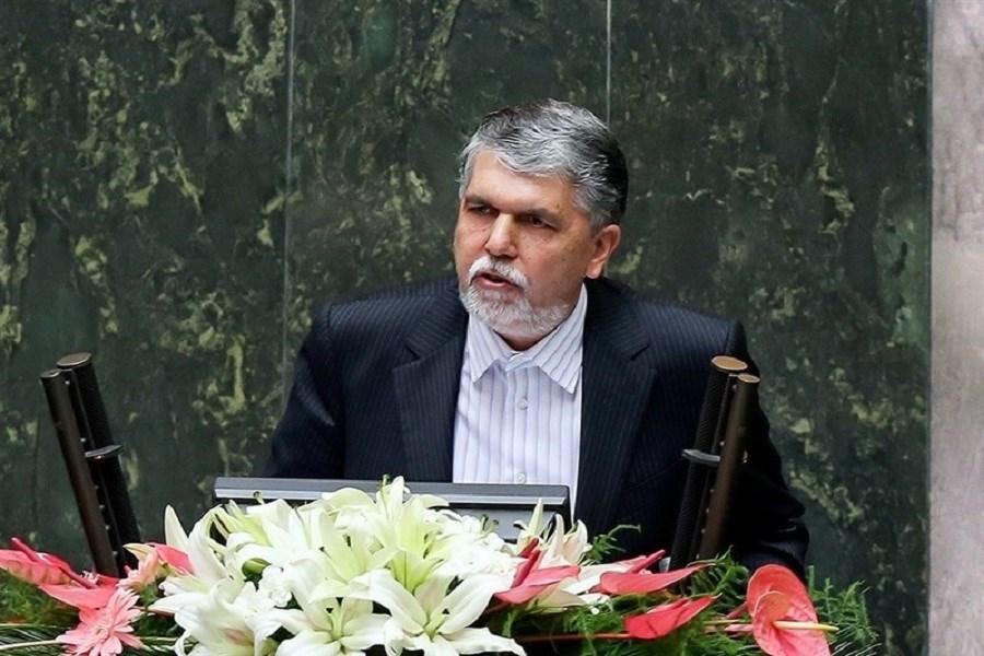 تصویر نماینده آبادان با پاسخ های وزیر فرهنگ قانع شد