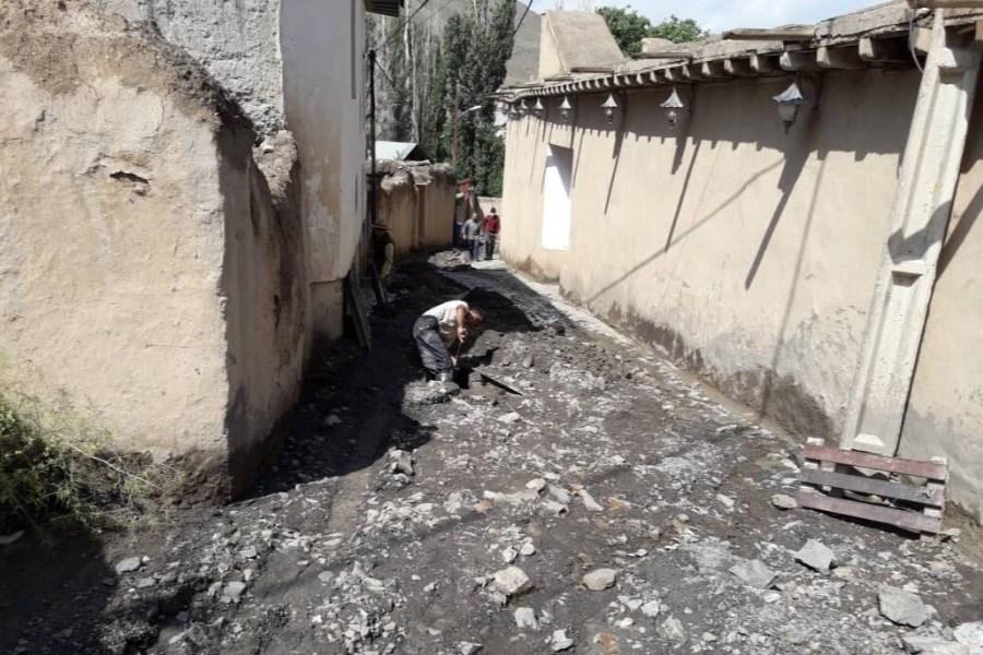 سیل به زادگاه نیما یوشیج بیش از ۱۰ میلیارد تومان خسارت زد