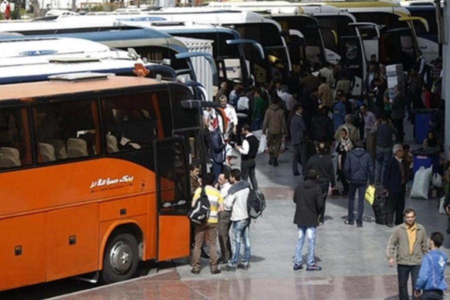 تعطیلی یک هفتهای باعث افزایش تقاضای بلیت اتوبوس شد