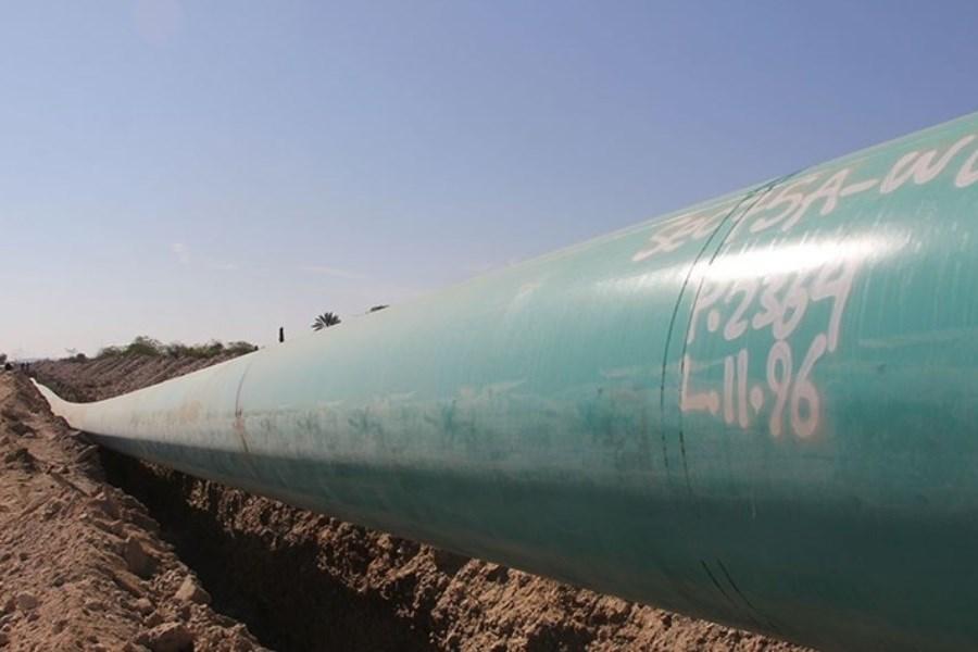 تصویر برای نخستین بار نفت ایران به مکران و دریای عمان رسید