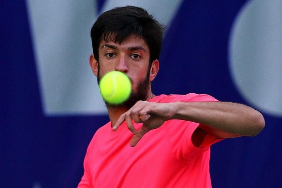 تصویر دعوت  امیر حسین بادی به اردوی تیم ملی تنیس