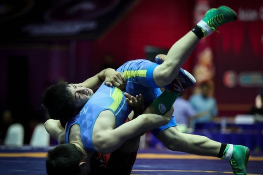 تصویر دو شانس طلا برای وزن های دوم آزادکاران ایرانی
