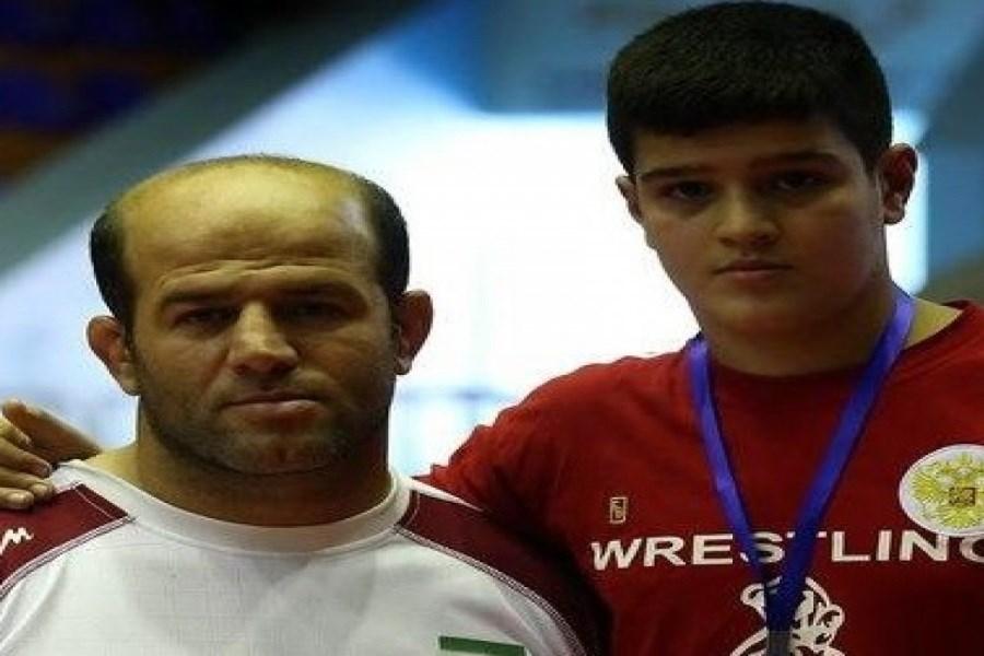 همه تلاشم را میکنم که پسرم مدالی که من در المپیک از دست دادم را به دست آورد
