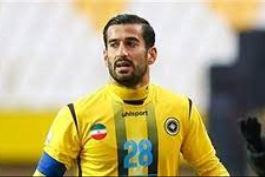 تصویر زمان انتقال احسان حاج صفی به لیگ یونان