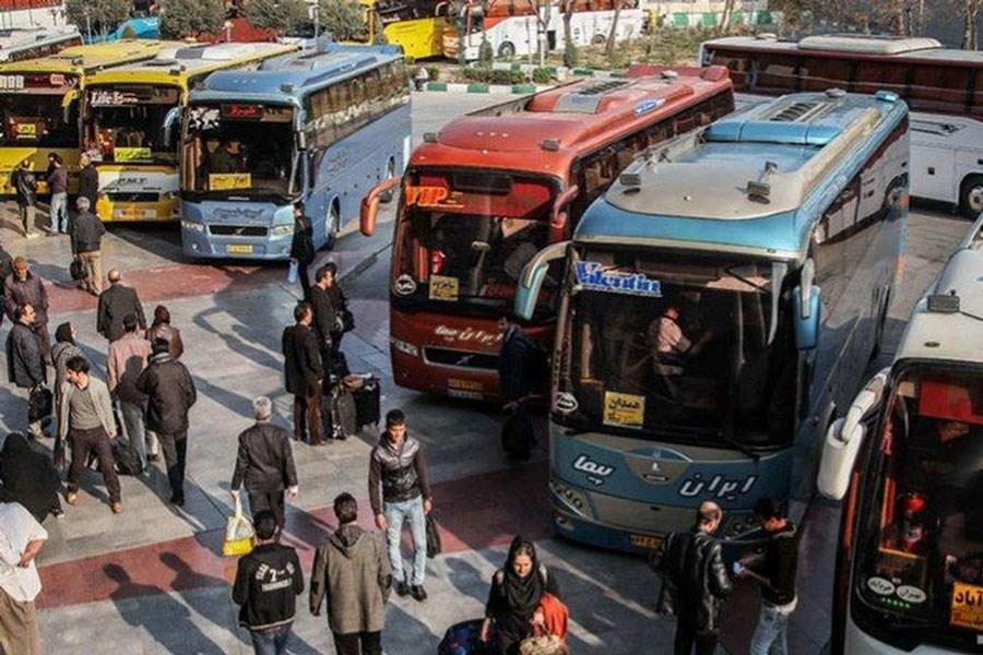 هجوم مسافران به اتوبوسهای بینشهری / برخورد با متخلفان