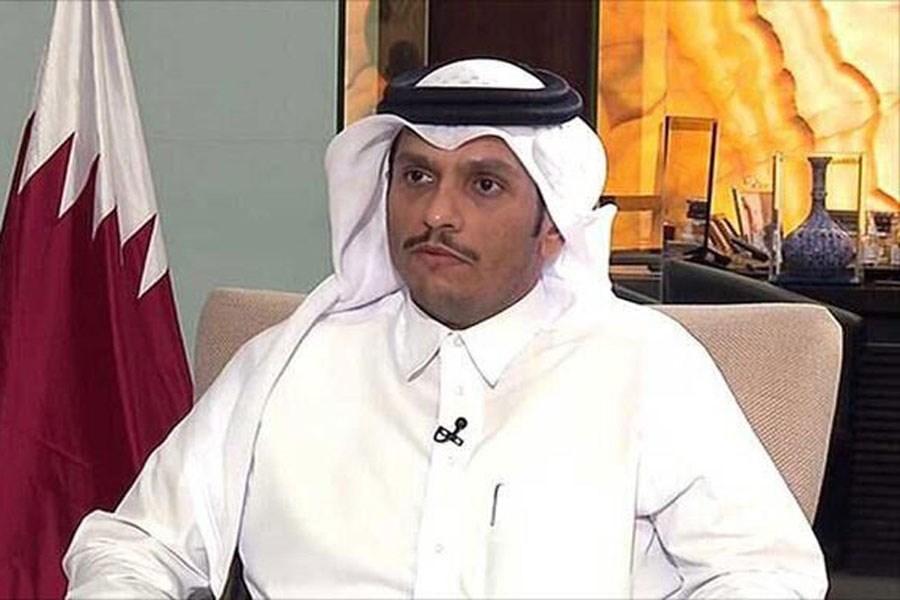 تصویر ایران یکی از موضوعات گفت وگوی وزیر خارجه قطر و مشاور امنیت ملی آمریکا