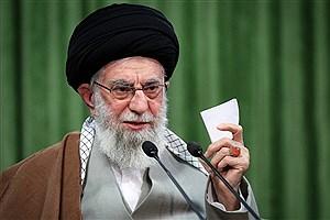 تصویر  تقدیر رهبر معظم انقلاب از کاروان پارالمپیک ایران