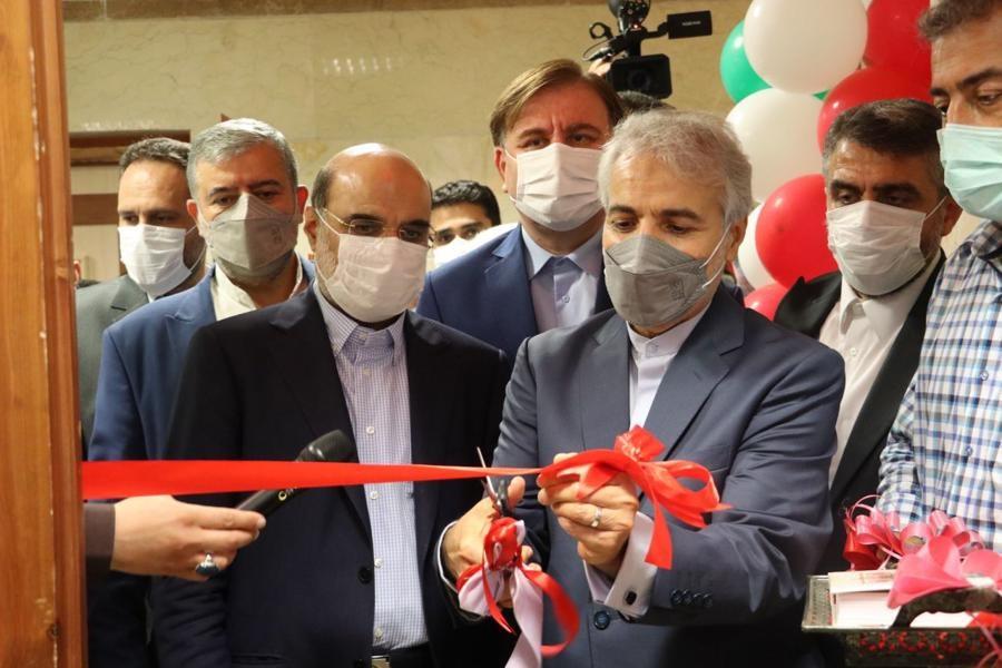 تصویر افتتاح استودیوهای رادیویی و تلویزیونی صدا و سیمای مرکز گیلان+ عکس