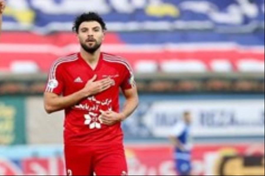 مدافع تراکتور از همراهی تیمش در هفته های پایانی لیگ بازماند