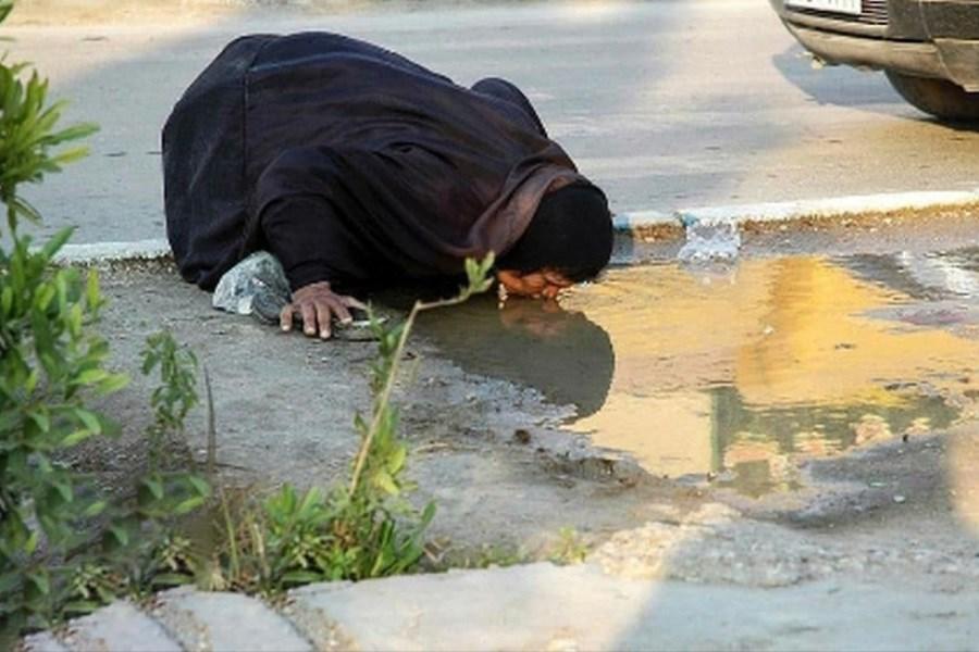 زن تشنه خوزستانی کیست ؟!