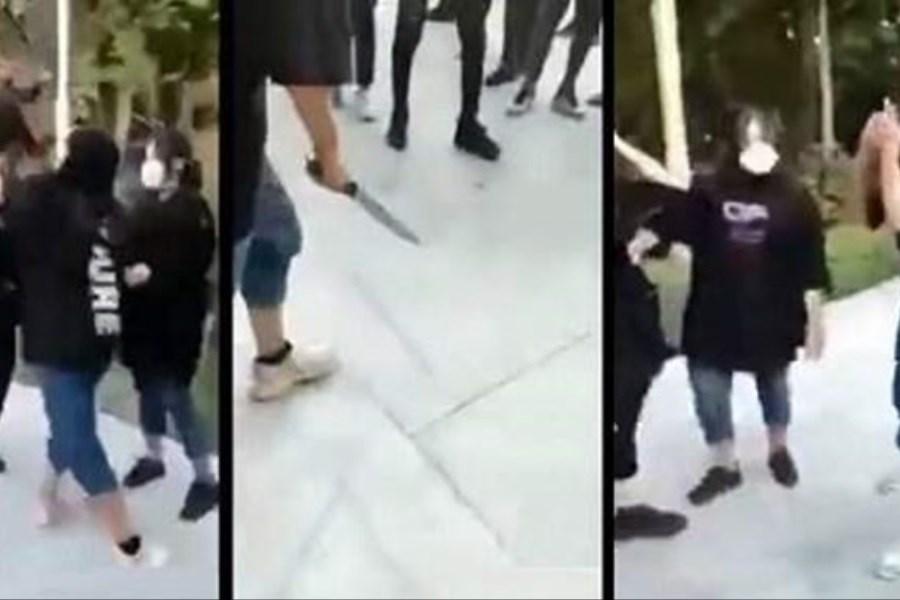 مصاحبه روانشناختی با دختران نوجوان حاضر در کلیپ قدرت نمایی با سلاح سرد در اصفهان