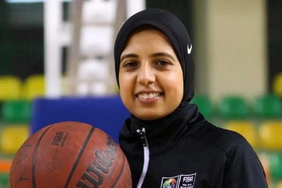 تصویر سارا جمال؛ اولین داور محجبه تاریخ المپیک