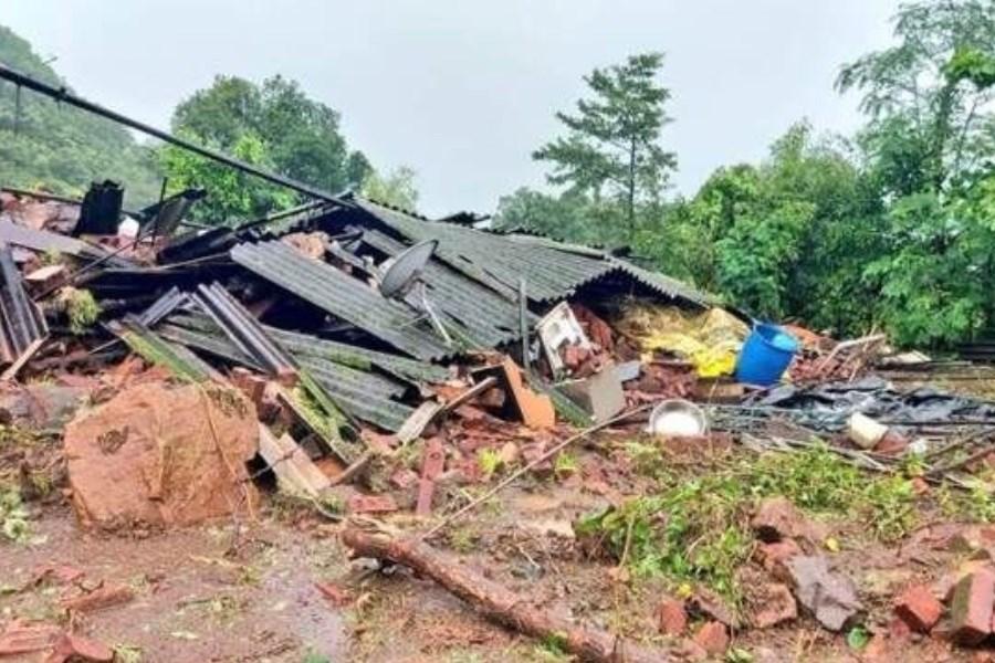 سیل و رانش زمین در هند 42 کشته برجای گذاشت