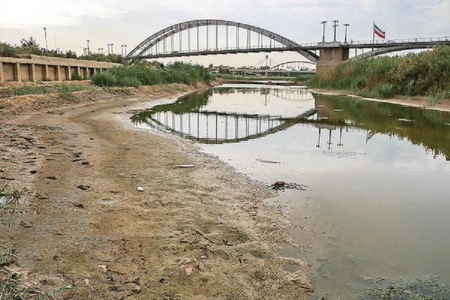 دلایل بحران بی آبی در خوزستان
