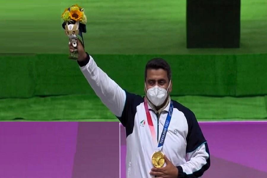 قالیباف کسب اولین مدال طلای ایران در المپیک ژاپن تبریک گفت
