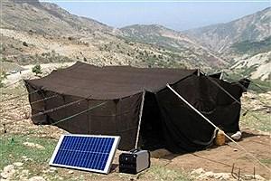 تصویر  توزیع ۲۰۳ پنل خورشیدی بین عشایر خوسف خراسان جنوبی