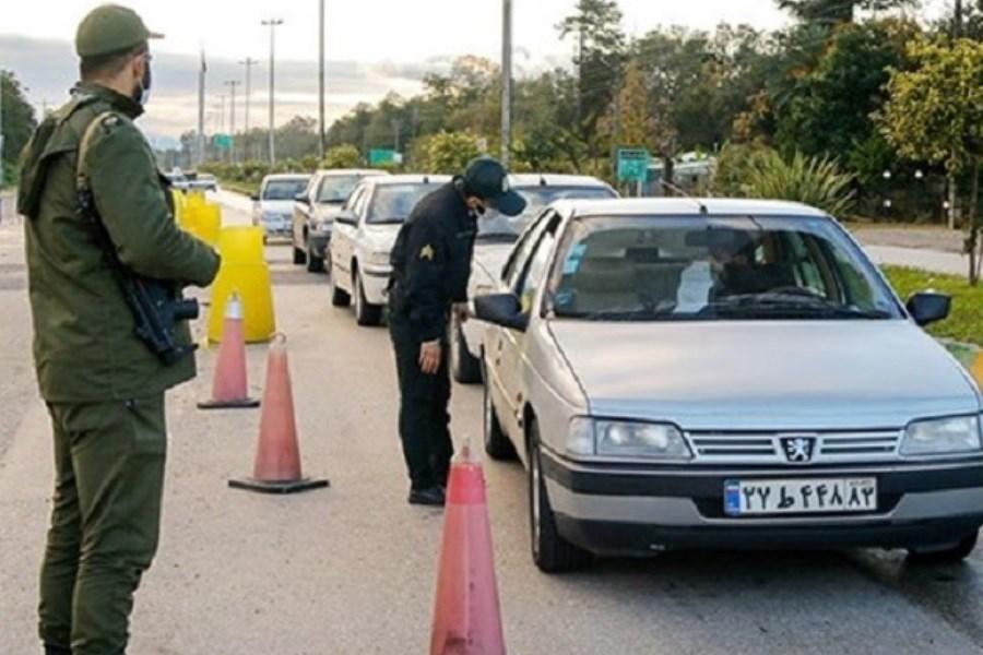 ثبت جریمه تردد 44 هزار راننده در تعطیلات اخیر