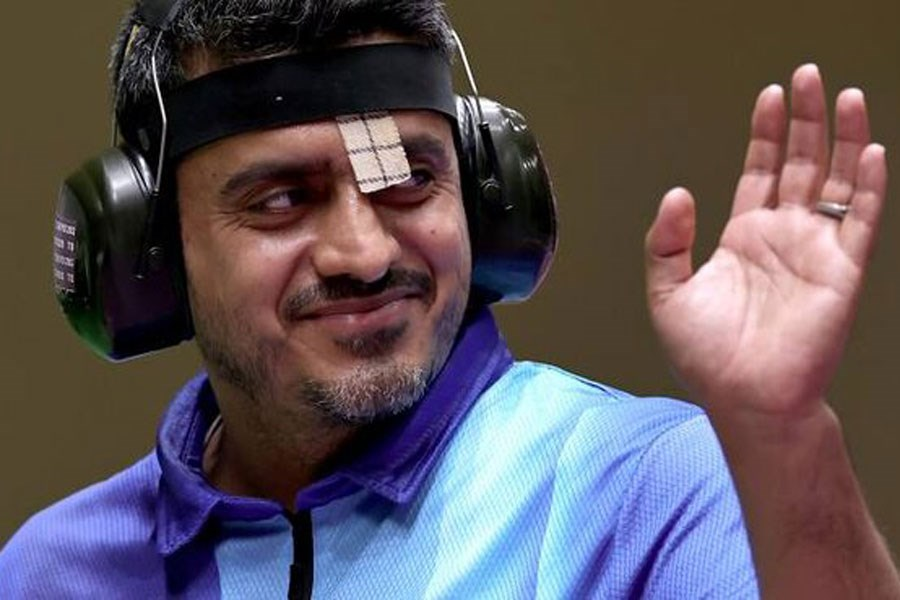 تصویر تبریک رسانه پرسون به جواد فروغی در پی کسب مدال طلا