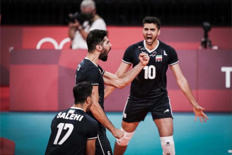 نبرد سخت بین ایران و ایتالیا / تلاش والیبالیست ها برای صعود