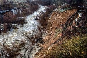 تصویر  خسارت  ۱۳۱میلیارد ریالی سیل شهرستان خانمیرزا  در چهارمحال وبختیاری