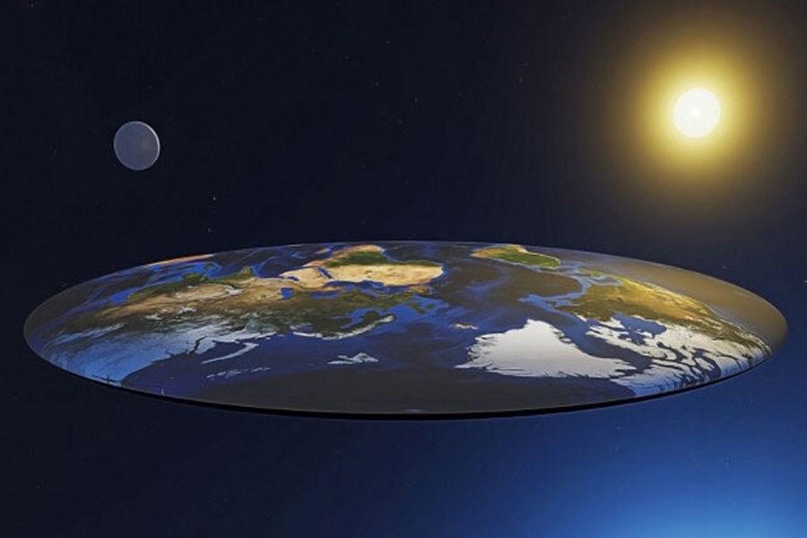چرا زمین مسطح نیست؟