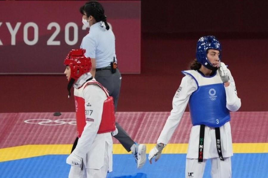 ناهید کیانی از بازی های المپیک حذف شد
