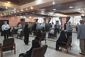 تصویر  راه اندازی سومین مرکز واکسیناسیون کرونا در بیرجند