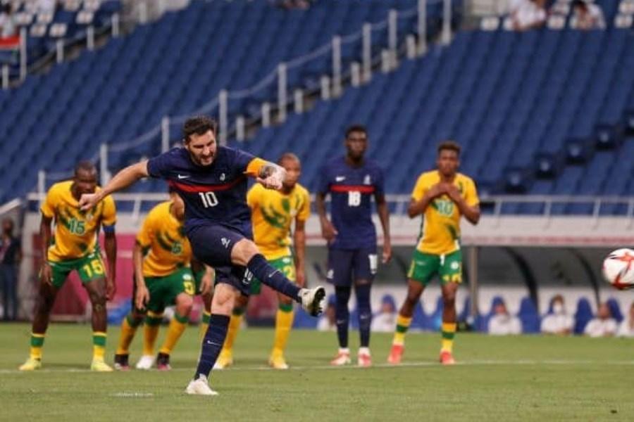پیروزی تیم های فوتبال فرانسه و هندرواس مقابل حریفان خود