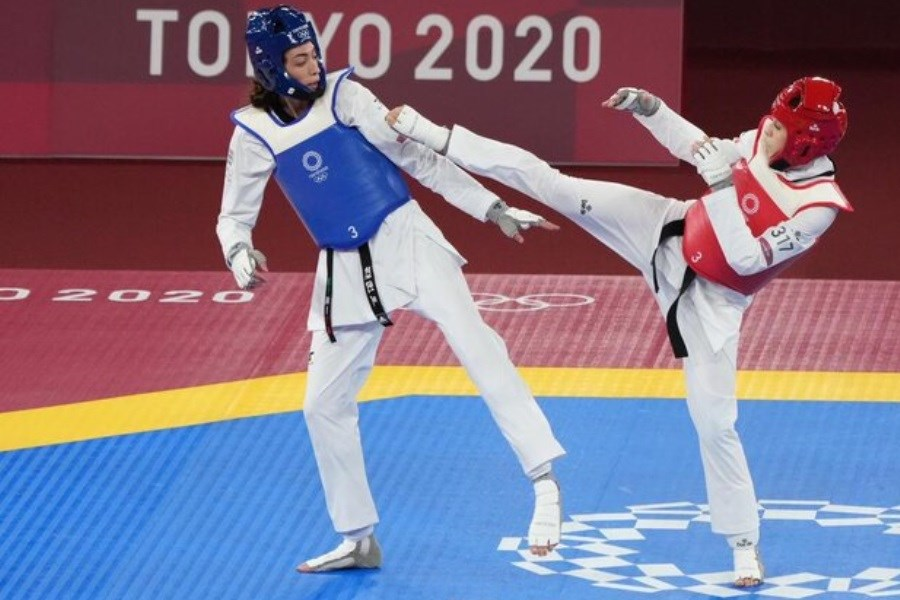 حواشی رقابت کیمیا علیزاده و ناهید کیانی در المپیک