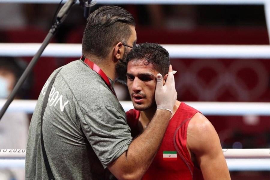 شکست بوکسور ایرانی مقابل نماینده میزبان المپیک